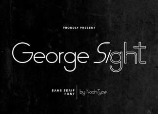 George Sight Sans Serif Font