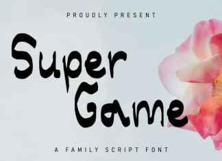 Super Game Display Font