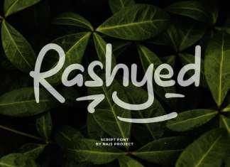 Rashyed Display Font