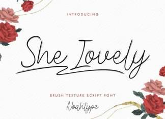 She Lovely Handwritten Font