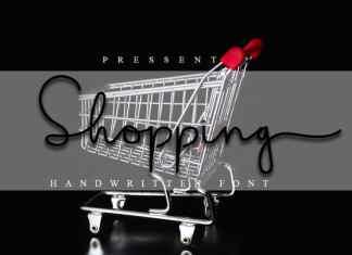 Shopping Script Font