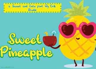 Sweet Pineapple Display Font