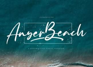 Anyer Beach Script Font