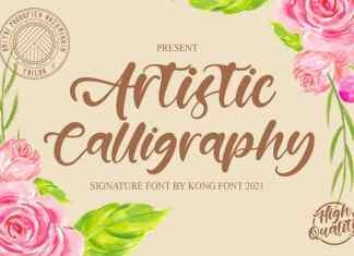 Artistic Script Font