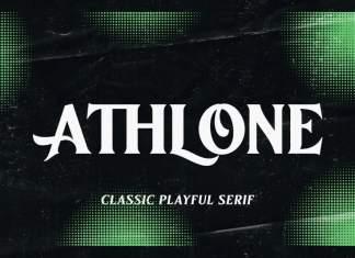 Athlone Serif Font