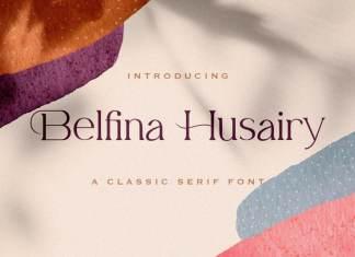 Belfina Husairy Serif Font