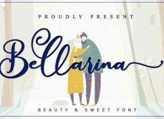 Bellarina Calligraphy Font