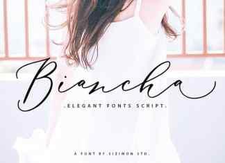 Biancha Script Font