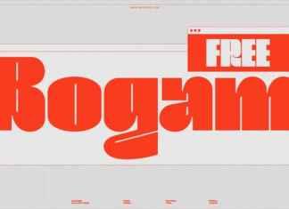 Bogam Display Font