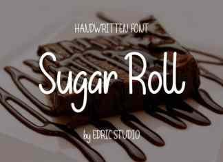 Sugar Roll Handwriting Font