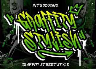Graffity Stylish Display Font