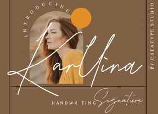 Karllina Handwritten Font