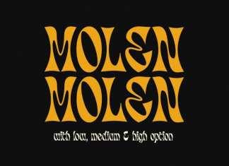 Molen Display Font