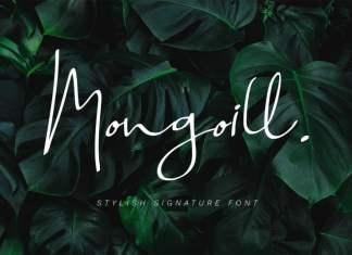 Mongoill Handwritten Font