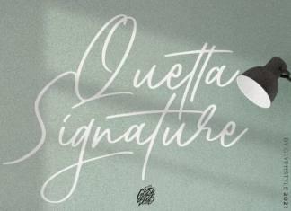 Quetta Script Font