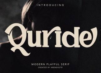 Quride Slab Serif Font