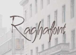 Ragha Brush Font