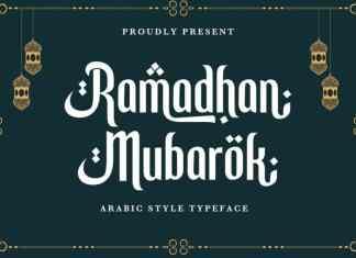 Ramadhan Mubarok Display Font