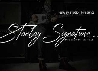 Stenley Signature Script Font