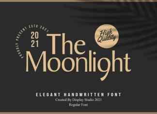The Moonlight Sans Serif Font