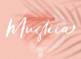 Mustica Handwritten Script Font