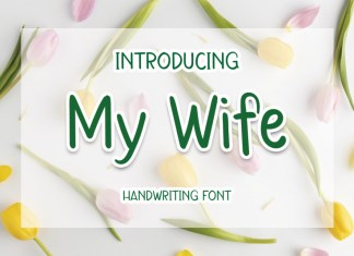 My Wife Display Font