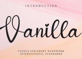 Vanilla Script Font