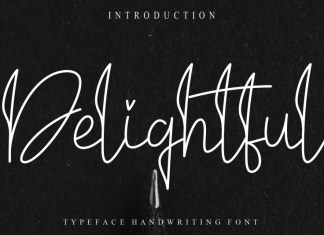 Delightful Handwritten Font