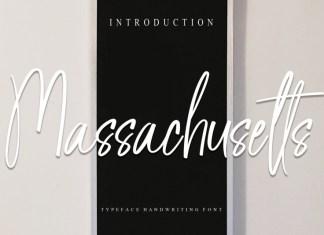 Massachusetts Script Font