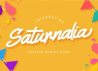 Saturnalia Script Font