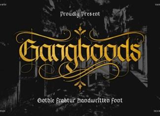 Ganghoods Display Font