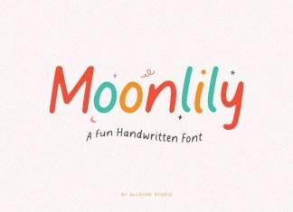 Moonlily Display Font