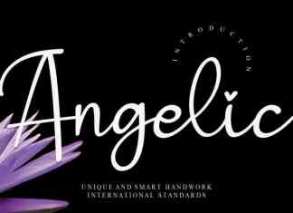 Angelic Handwritten Font