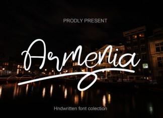 Armenia Script Font