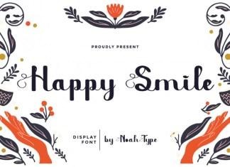 Happy Smile Script Font