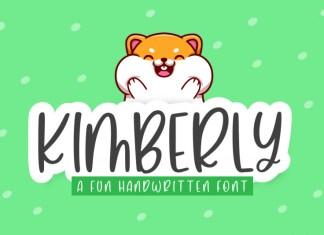 Kimberly Display Font