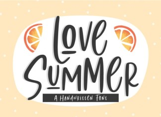 Love Summer Handwritten Font