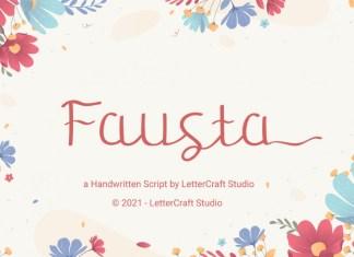 Fausta Script Font