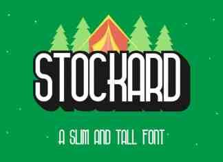 Stockard Sans Serif Font