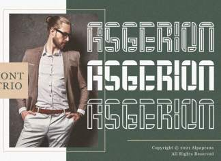 Asgerion Display Font