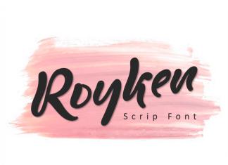 Royken Brush Font