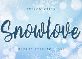 Snowlove Script Font