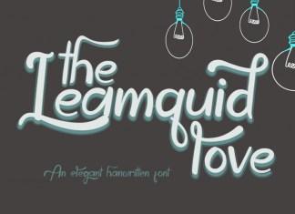 The Leamquid Love Script Font