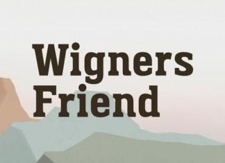 Wigners Friend Slab Serif Font
