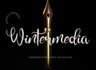 Wintermedia Script Font