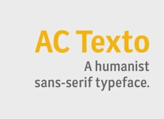 AC Texto Sans Serif Font