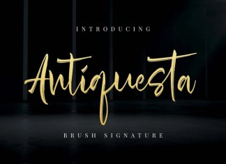 Antiquesta Brush Font