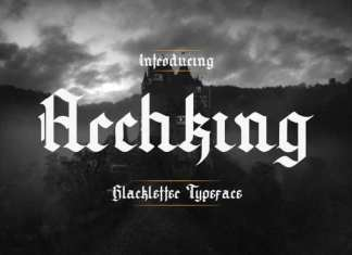 Archking Trial Blackletter Font