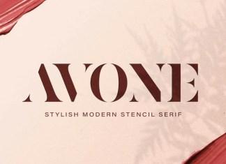 AVONE Serif Font