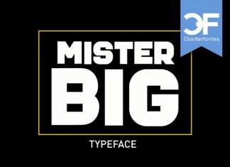 Mister Big Display Font